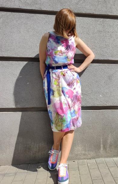 Sukienka akwarela