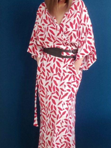 Kimono Czerwień 1