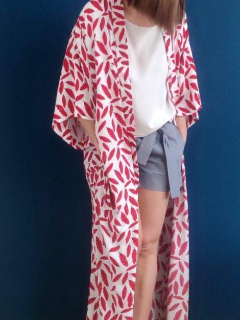 Kimono Czerwień