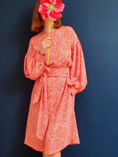 Sukienka kropeczki 1