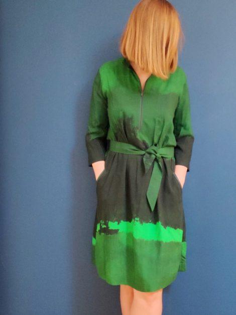Sukienka zieleń 1