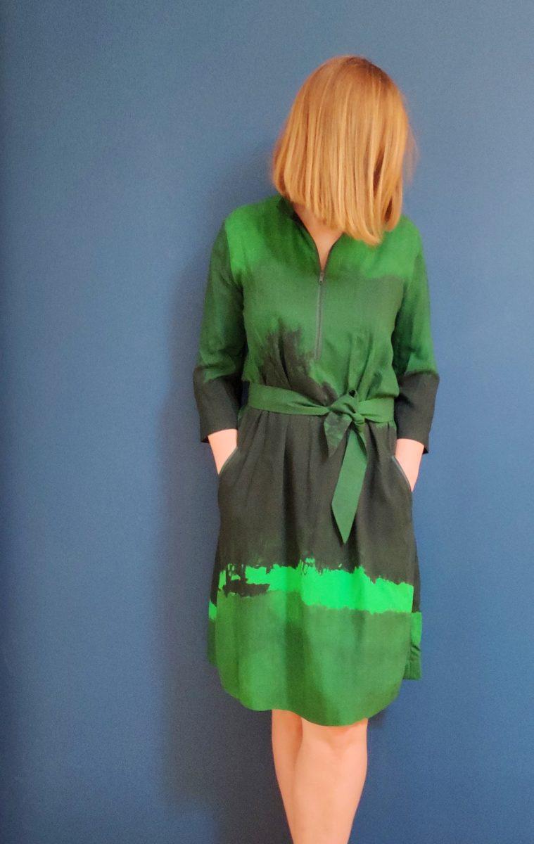 Sukienka zieleń