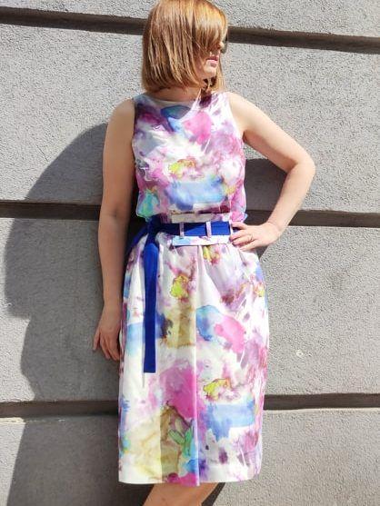 Sukienka akwarela 1