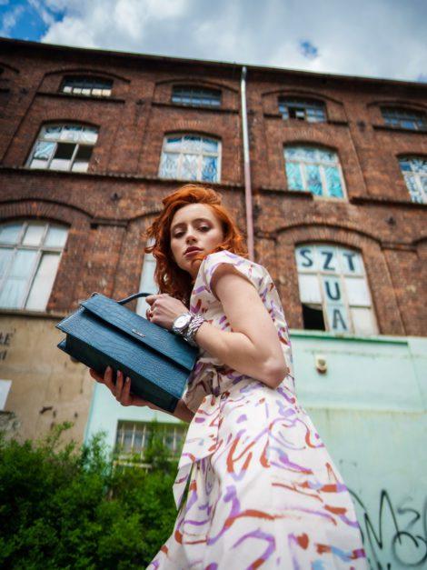sukienka fioletowy print1